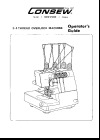 Consew 14tu.pdf sewing machine manual image preview