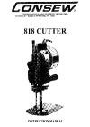 Consew 818cutter.pdf sewing machine manual image preview