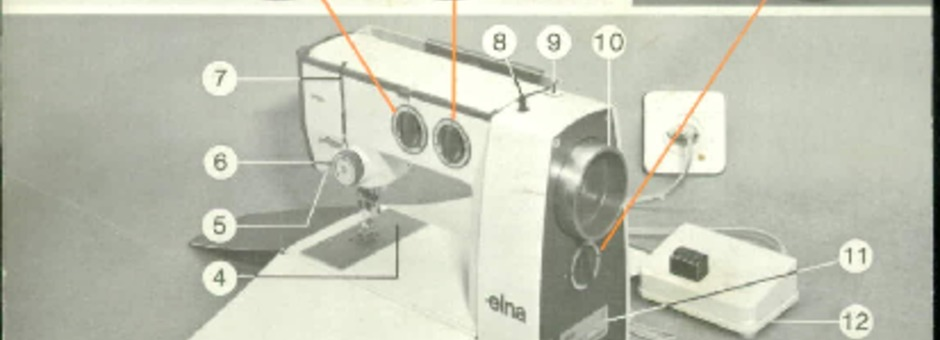 Elna LOTUS Sewing Machine Instruction Manual for Download ...