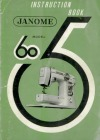Janome 605.pdf sewing machine manual image preview