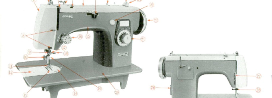 Jones 40 Sewing Machine Instruction Manual For Download 4040 PDF Inspiration Jones Sewing Machine Manual