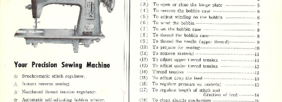Jones CBMODELD Sewing Machine Instruction Manual For Download Beauteous Jones Cb Sewing Machine