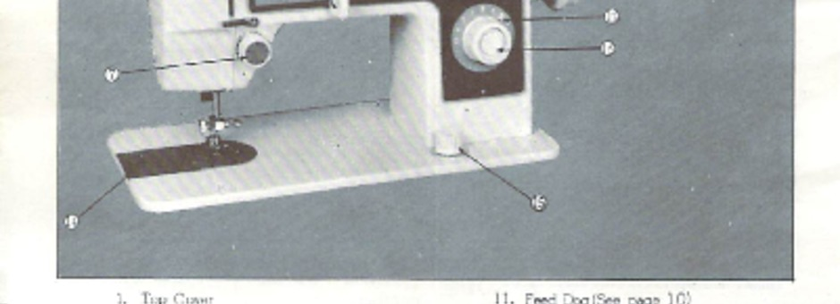 Jones M40 Sewing Machine Instruction Manual For Download 4040 PDF Custom Jones Sewing Machine Manual