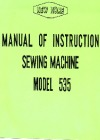 New_Home 535.pdf sewing machine manual image preview