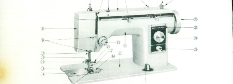 New Home 40 Sewing Machine Instruction Manual For Download 4040 PDF Adorable New Home Sewing Machine Threading Instructions