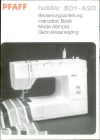 Pfaff HOBBY-301-420.pdf sewing machine manual image preview