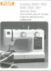 Pfaff HOBBY-340-521-541-721-741.pdf sewing machine manual image preview