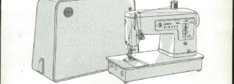 Singer 40 Sewing Machine Instruction Manual For Download 4040 PDF New Singer 347 Sewing Machine Instruction Manual