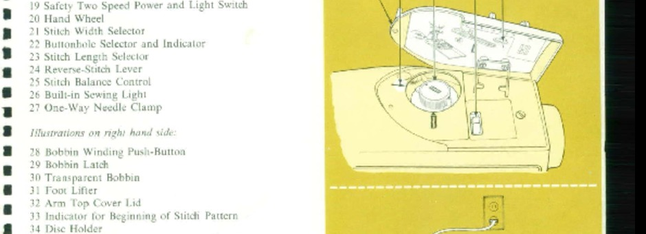 Singer 740 760 Sewing Machine Instruction Manual For Download 1000 Pdf