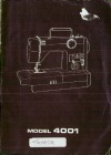 Toyota 4001.pdf sewing machine manual image preview