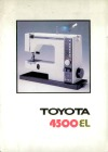 Toyota 4500-EL.pdf sewing machine manual image preview