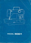 Toyota 5001.pdf sewing machine manual image preview