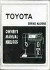 Toyota 555.pdf sewing machine manual image preview