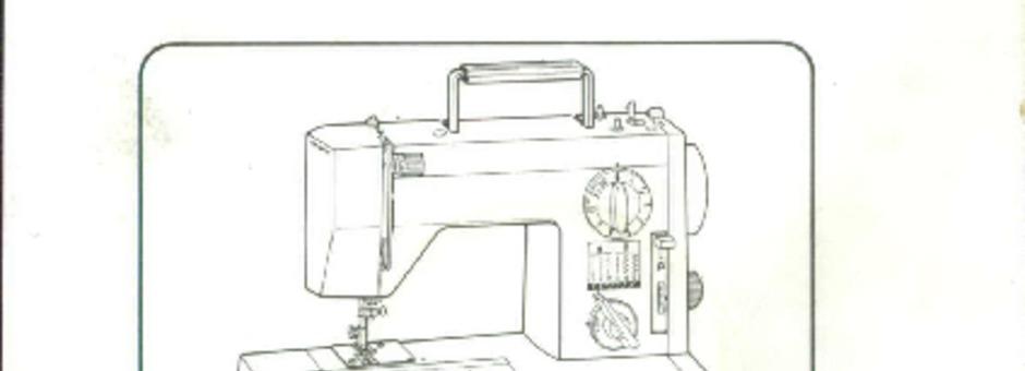 toyota sewing machine manual download