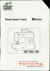 Toyota 7001-7002-7700.pdf sewing machine manual image preview