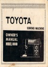 Toyota 888.pdf sewing machine manual image preview
