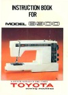 Toyota 8900.pdf sewing machine manual image preview